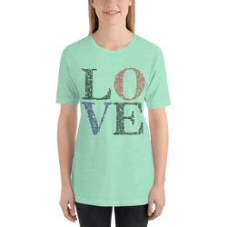Love definitions high-quality women tshirt - SlickTouch