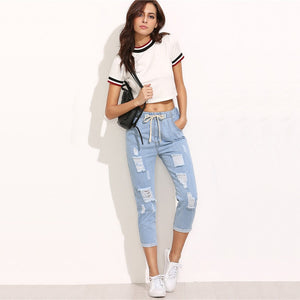 Dima ripped jeans women - SlickTouch