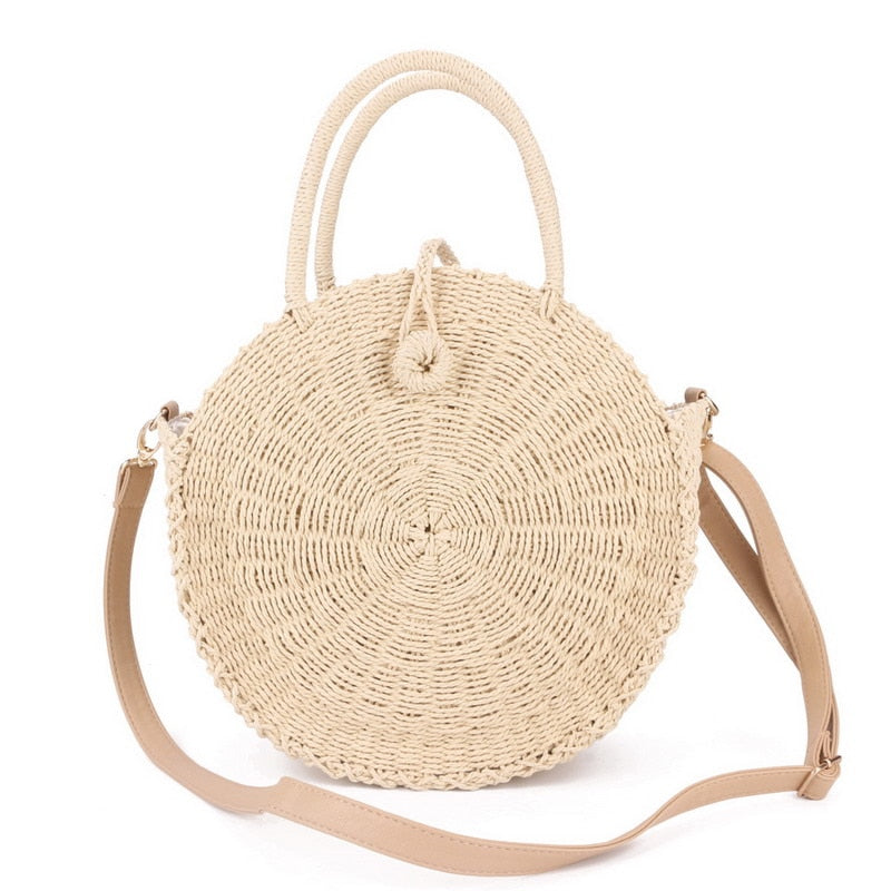 Betty Round Beach Bag - SlickTouch