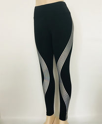Sonia Laser Reflective Leggings - SlickTouch