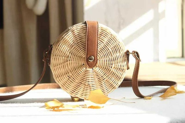 Betty Straw Beach Bag - SlickTouch