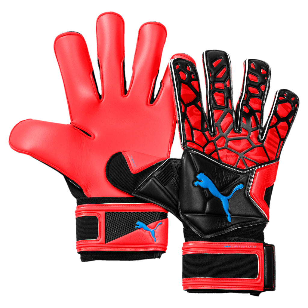 cf9c24f3f7 FUTURE Grip 19.2 Kapus kesztyű Red Blast-Puma Black-Puma White
