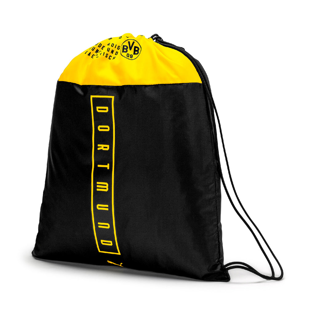 BVB Fan Gym táska Puma Black-Cyber Yellow