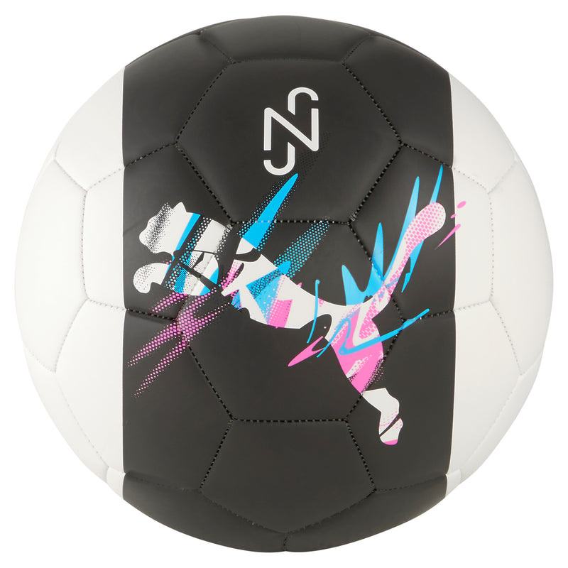 Neymar Jr. Logo Fan ball focilabda Black-White-Pink-Blue