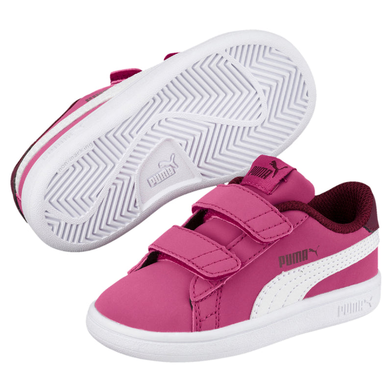 Puma Smash v2 Buck V PS cipő Magenta Haze-Puma white