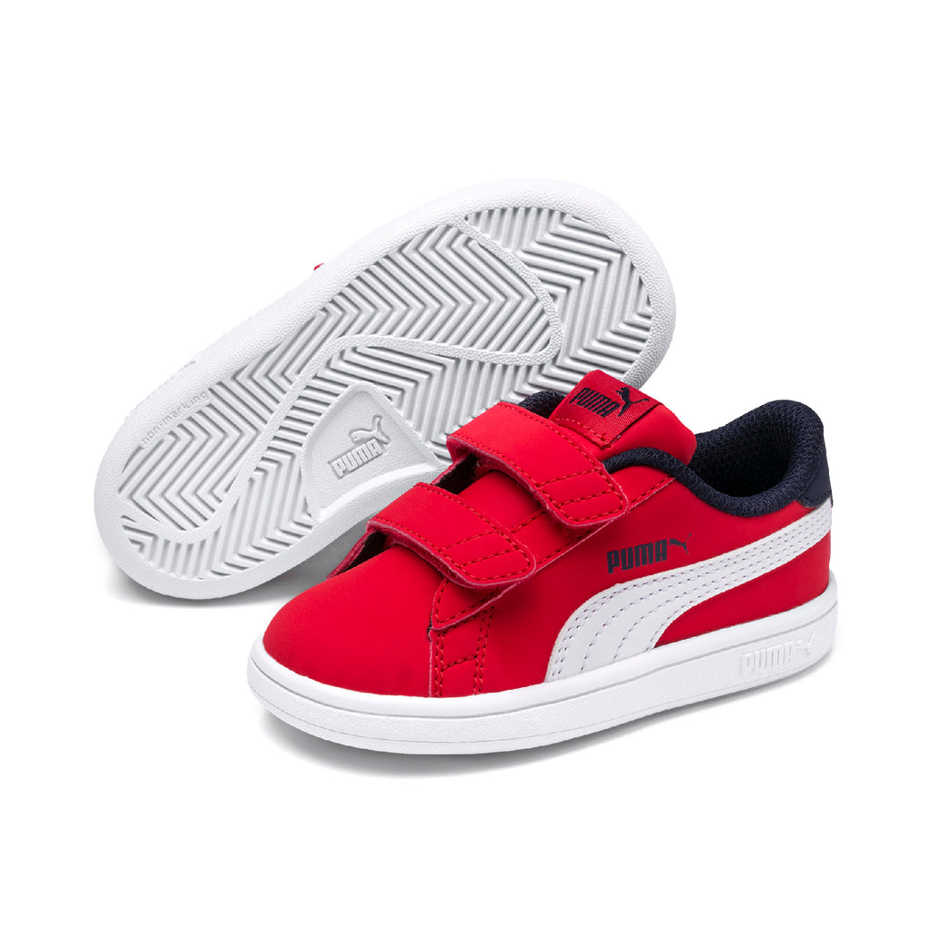 Puma Smash v2 Buck V PS cipő High Risk Red-Puma white - Teamsport & Lifestyle