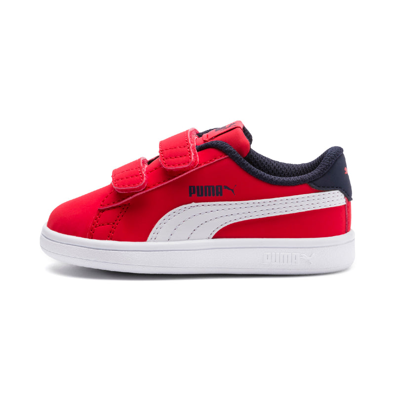 Puma Smash v2 Buck V PS cipő High Risk Red-Puma white