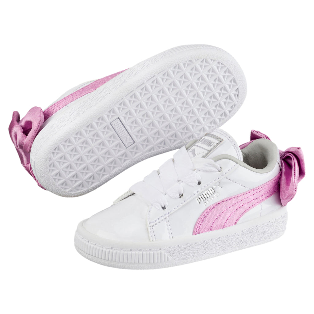 Basket Bow Patent AC PS cipő Puma White-Orchid-Gray