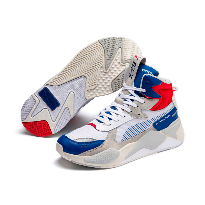 RS-X Midtop Utility ffi cipő Galaxy Blue-Puma White - Teamsport & Lifestyle