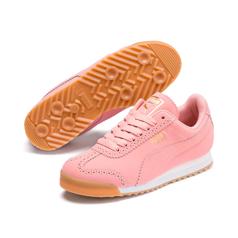 Roma Brogue Női prémium cipő Bridal Rose-Puma Team Gold