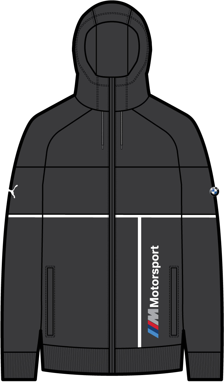 BMW MMS Hooded Sweat pulóver Puma Black