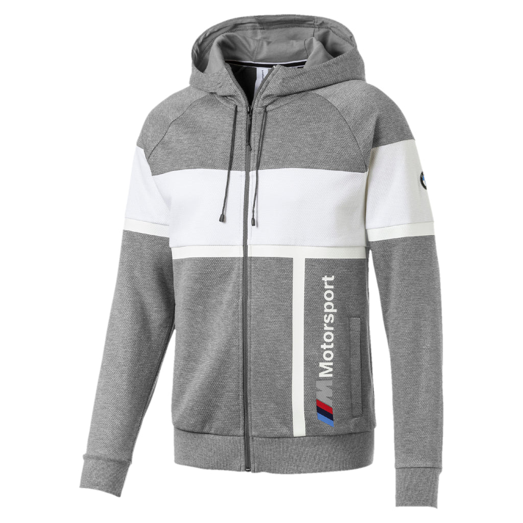 BMW MMS Hooded Sweat pulóver Medium Gray Heather