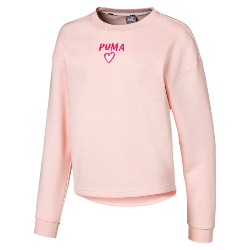 Alpha Crew Sweat póló Jr Rosewater - Teamsport & Lifestyle