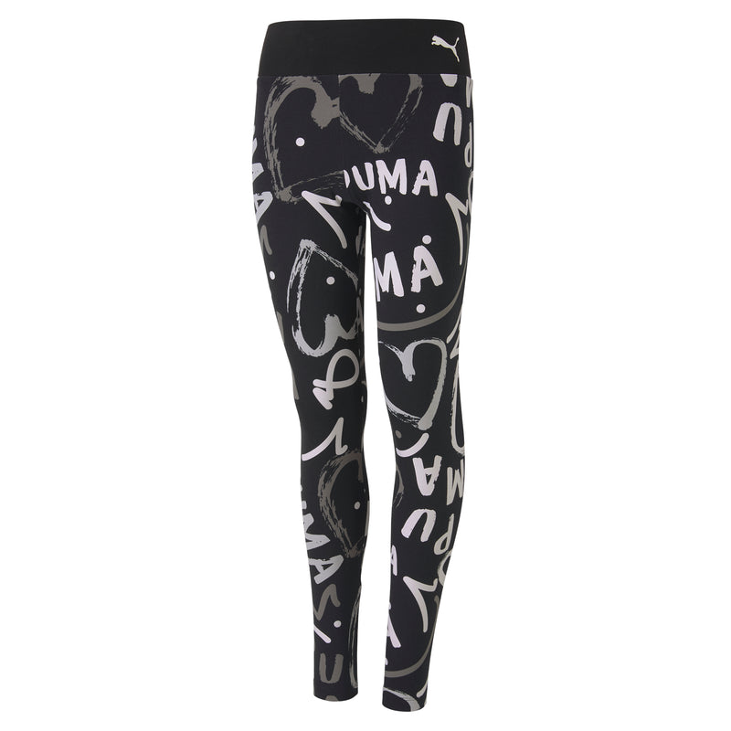 Alpha AOP Leggings nadrág Jr Puma Black-AOP - Teamsport & Lifestyle