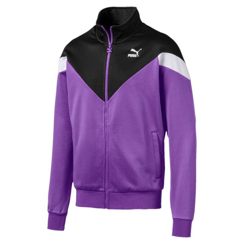 Iconic MCS Track Jacket ffi felső Purple Glimmer - Teamsport & Lifestyle