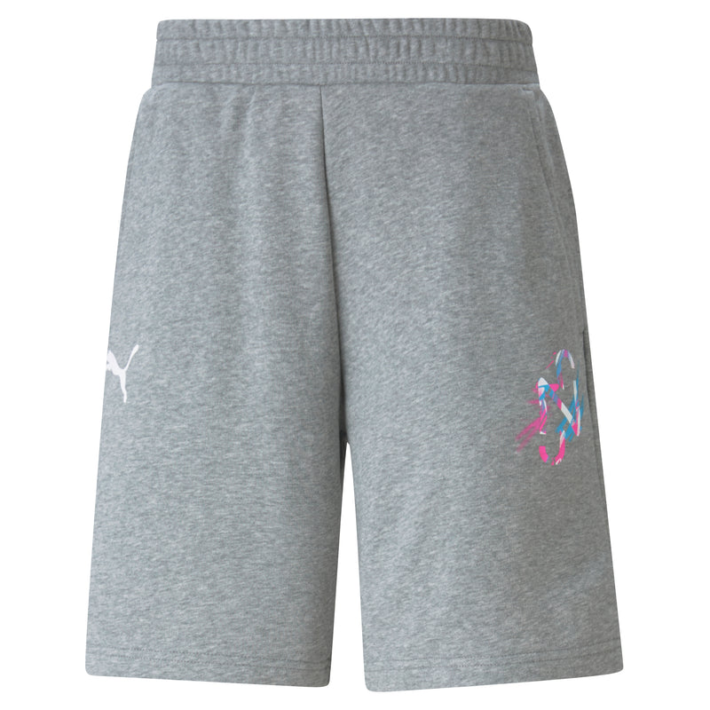 NEYMAR Jr. CREATIVITY Logo Shorts ffi rövid nadrág Medium Gray Heather