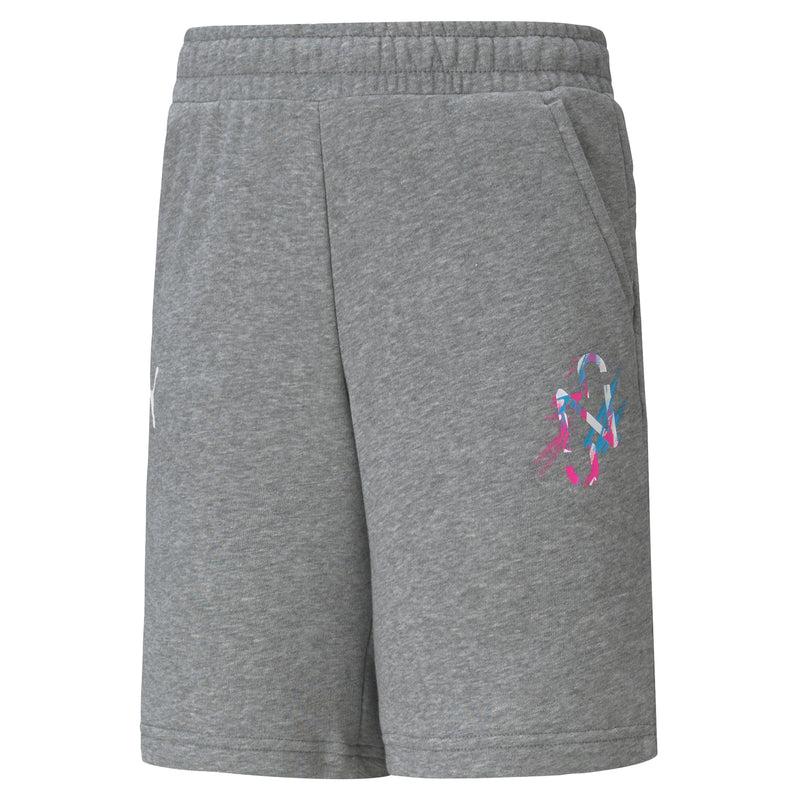 NEYMAR Jr. CREATIVITY Shorts gyerek rövid nadrág Médium Gray Heather