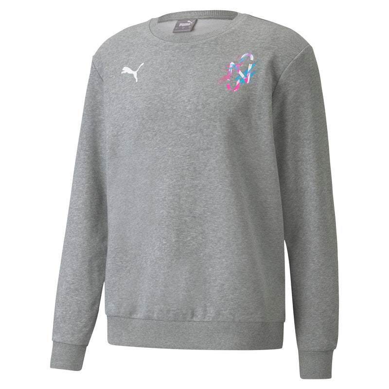 NEYMAR Jr. CREATIVITY Crew Sweat ffi melegítő felső Medium Gray Heather