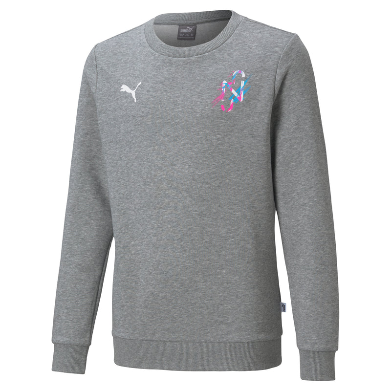 NEYMAR Jr. CREATIVITY Crew Sweat gyerek melegítő felső Medium Gray Heather