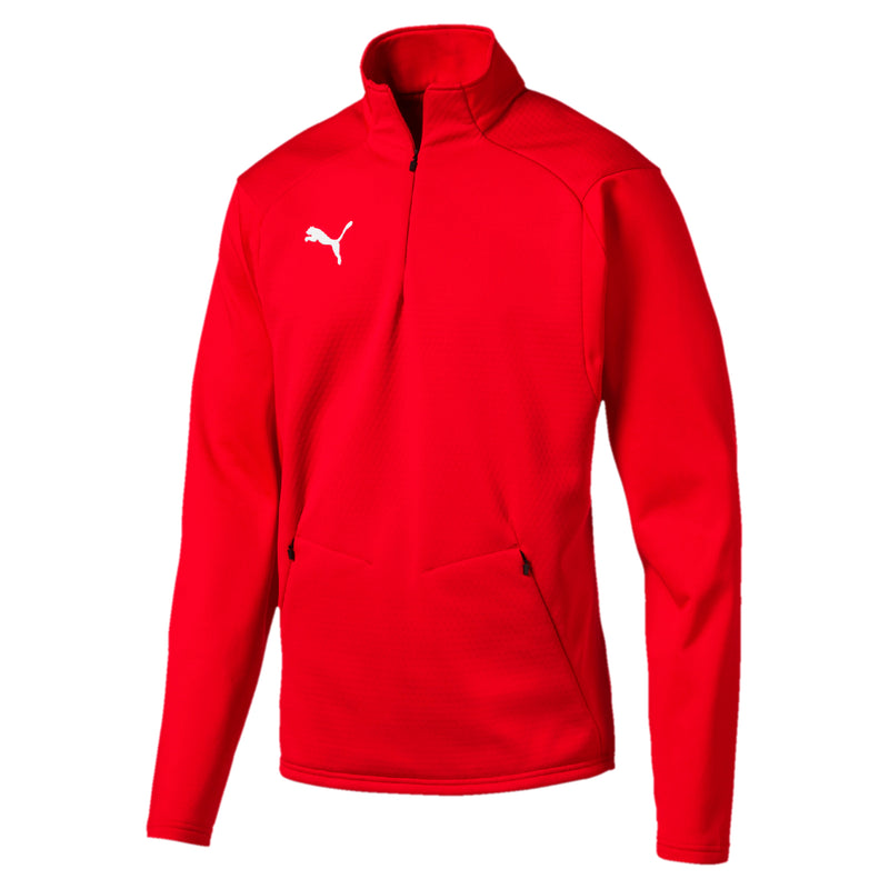 LIGA Training Fleece Téli Gyapjú felső Puma Red-Puma White