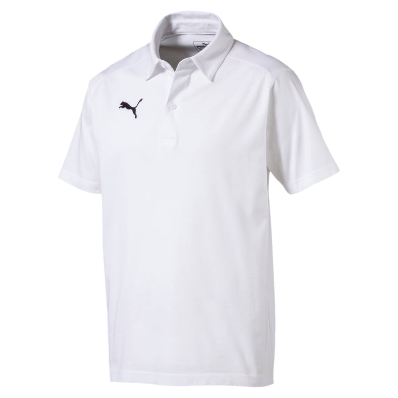 LIGA Casuals póló Puma White-Puma Black - Teamsport & Lifestyle