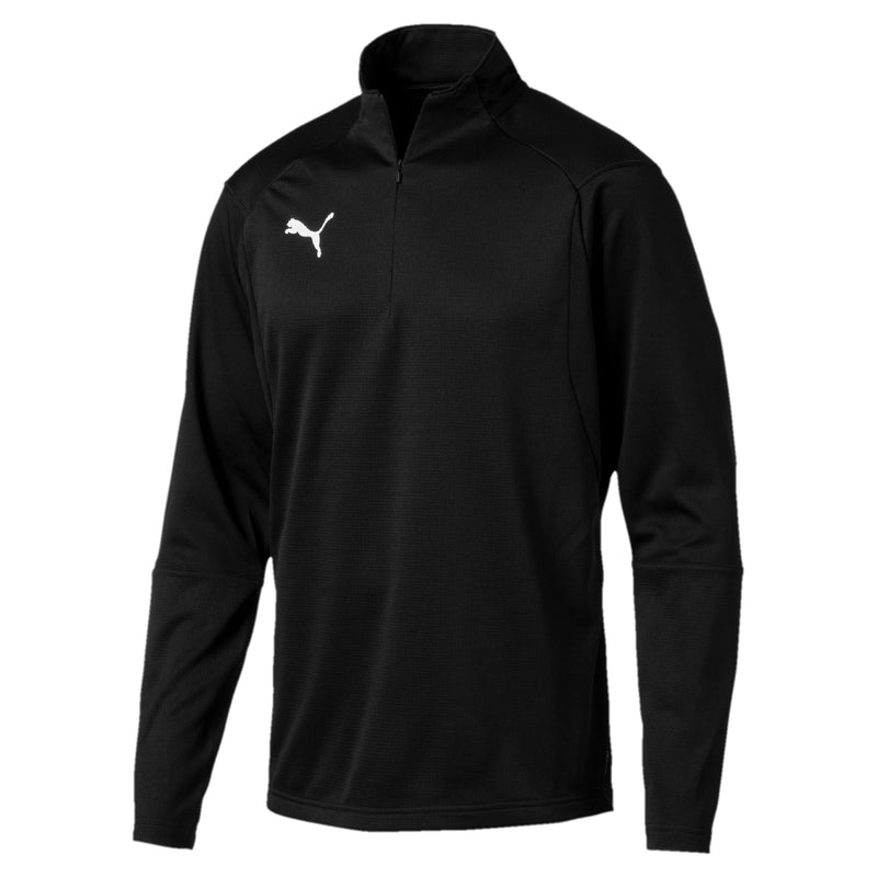 LIGA Training 1 4 Zip Top pulóver Puma Black-Puma White - Teamsport & Lifestyle