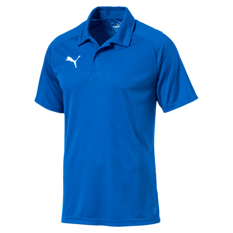 LIGA Sideline póló Electric Blue Lemonade-Puma White - Teamsport & Lifestyle