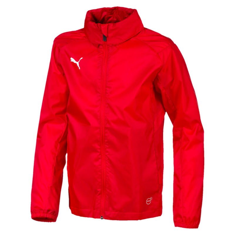 LIGA Rain Jacket TRG esőkabát Core Puma Red-Puma White - Teamsport & Lifestyle
