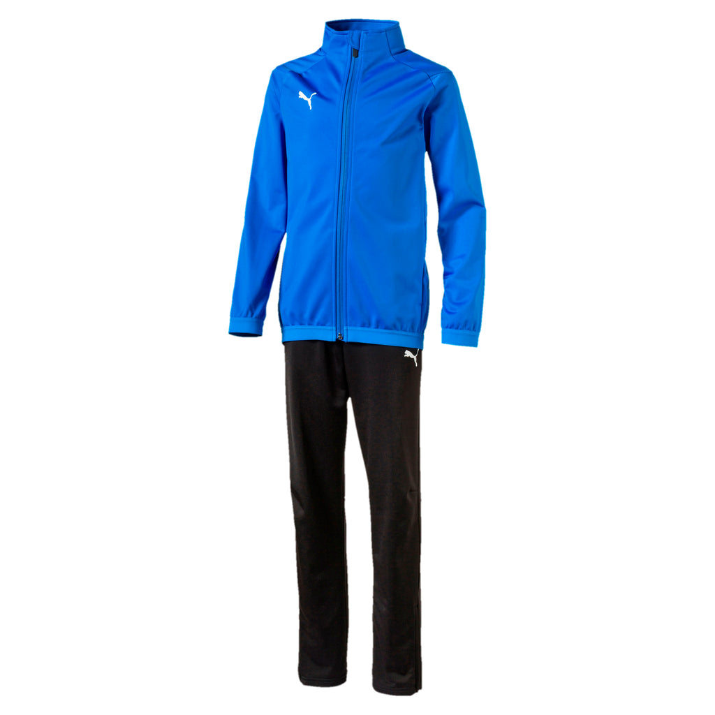 Liga Sideline Tracksuit Jr. training also-felső Electric Blue-Puma Black - Teamsport & Lifestyle