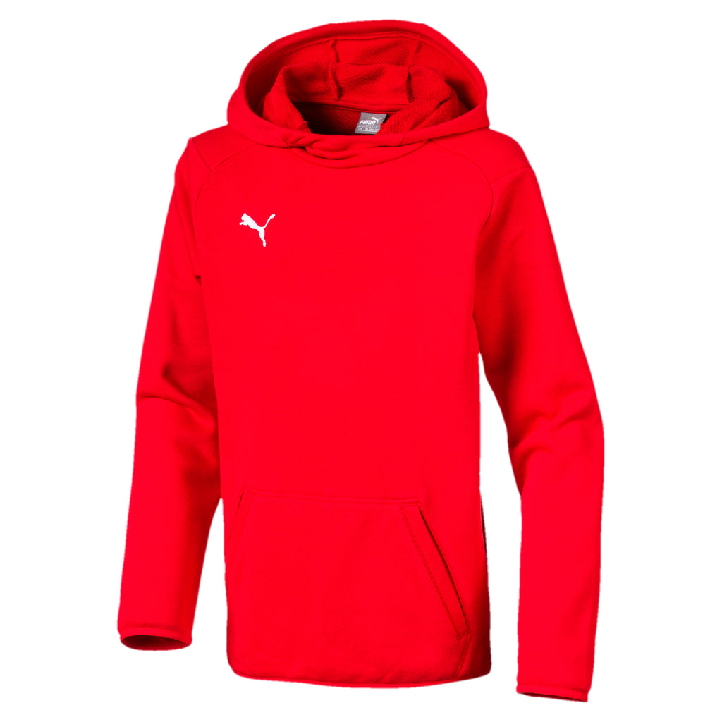 LIGA Casuals Hoody Jr pulóver Puma Red-Puma White