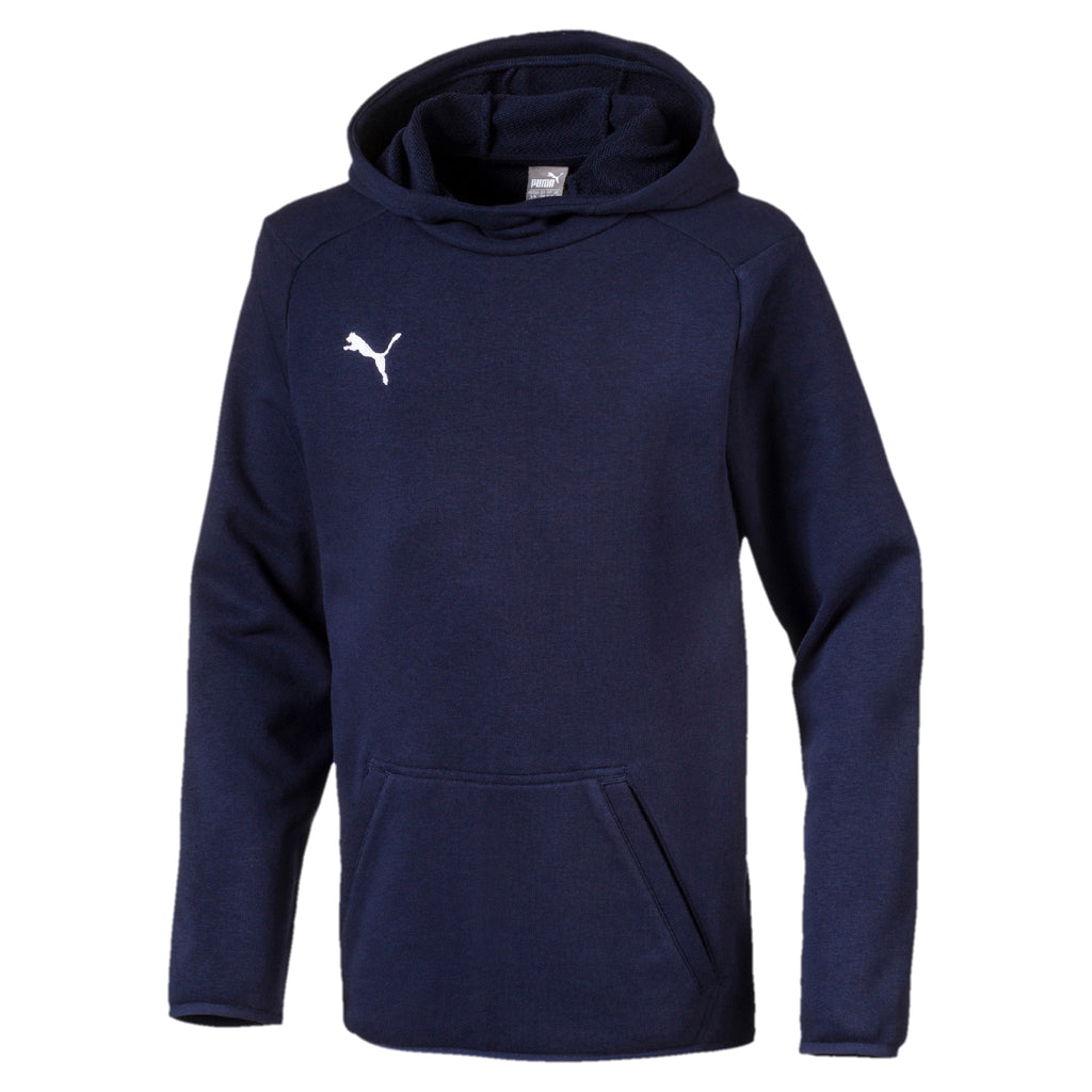 LIGA Casuals Hoody Jr pulóver Peacoat-Puma White - Teamsport & Lifestyle