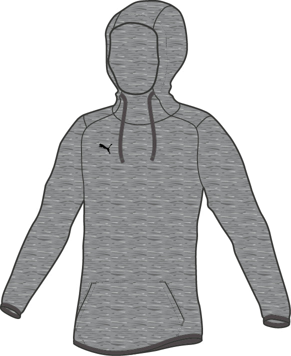 LIGA Casuals Hoody Jr pulóver Medium Gray Heather