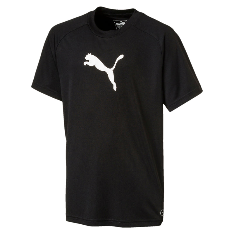 LIGA Sideline póló Jr Puma Black-Puma White - Teamsport & Lifestyle