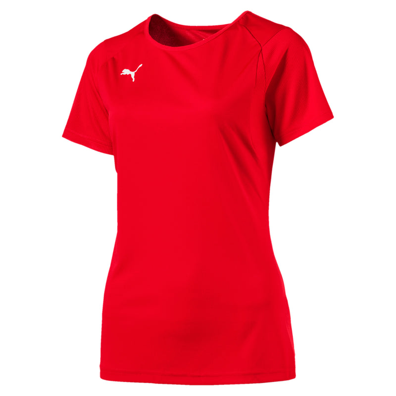 LIGA Training Jersey póló W Puma Red-Puma White - Teamsport & Lifestyle