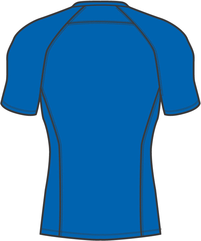 LIGA Baselayer póló SS Electric Blue Lemonade - Teamsport & Lifestyle