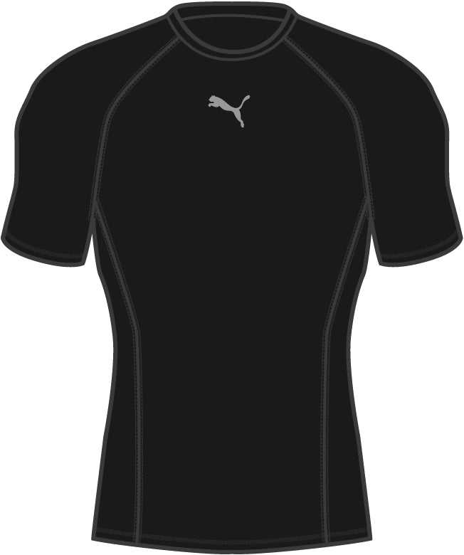 LIGA Baselayer póló SS Puma Black - Teamsport & Lifestyle