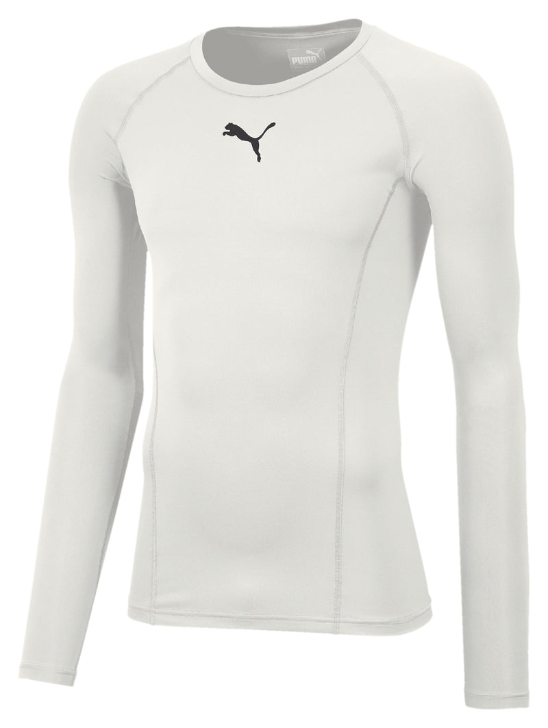 LIGA Baselayer póló LS Puma White - Teamsport & Lifestyle