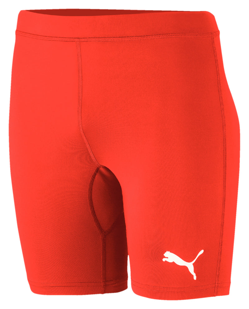 LIGA Baselayer sort Tight Puma Red - Teamsport & Lifestyle