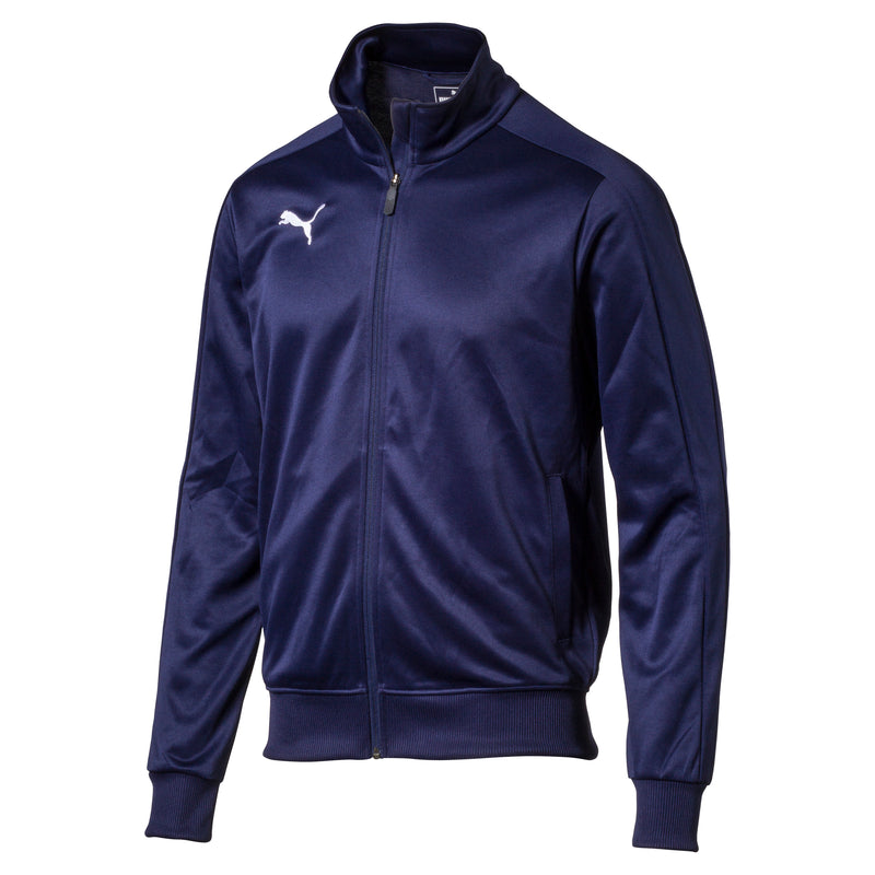 LIGA Casuals pulóver Peacoat-Puma White - Teamsport & Lifestyle