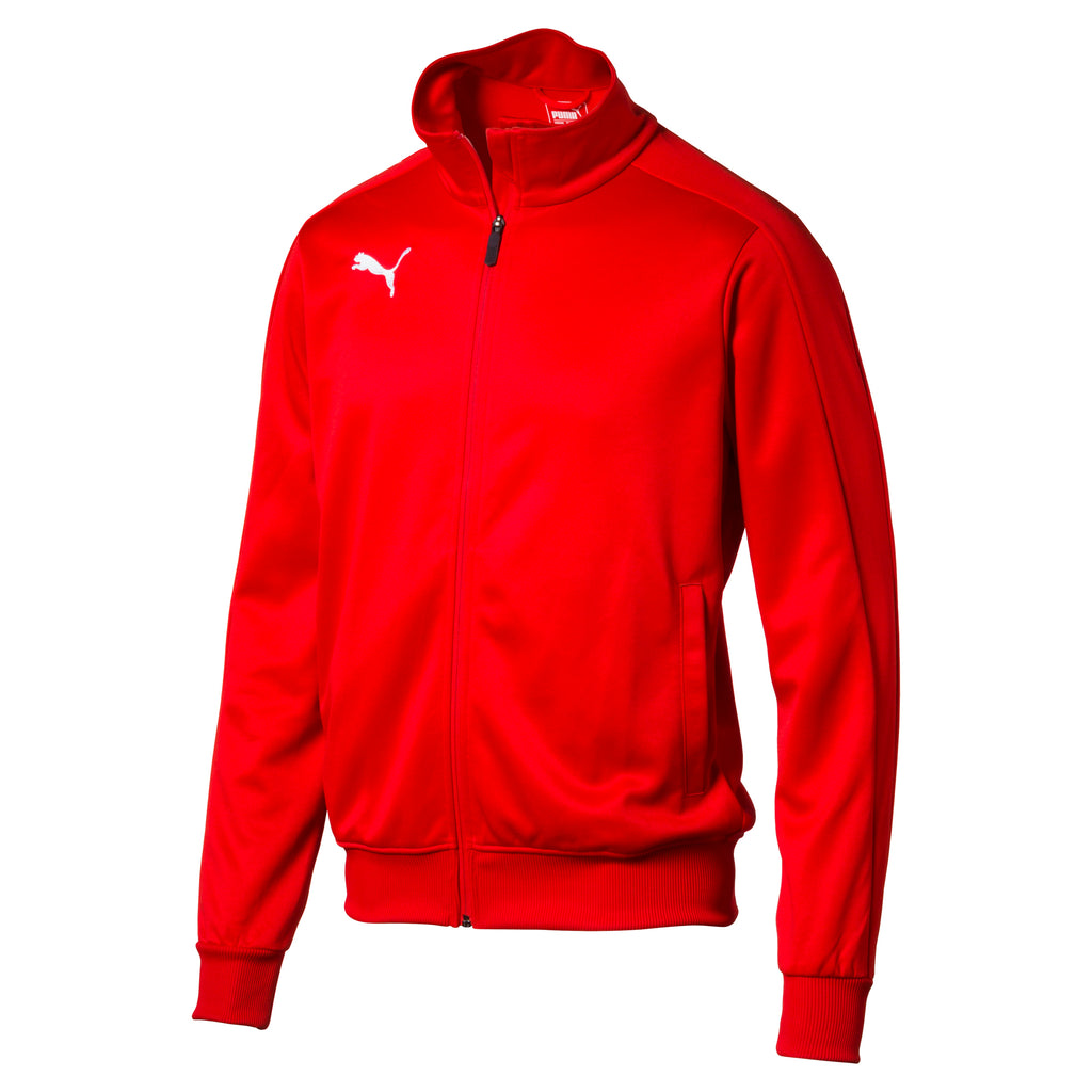 LIGA Casuals pulóver Jr Puma Red-Puma White