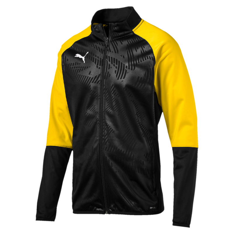 CUP Training Poly dzseki Core Puma Black-Cyber Yellow - Teamsport & Lifestyle