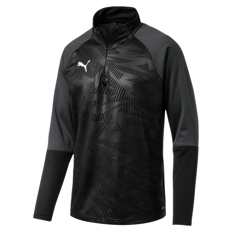 CUP Training 1 4 Zip T Core pulóver Puma Black-Asphalt