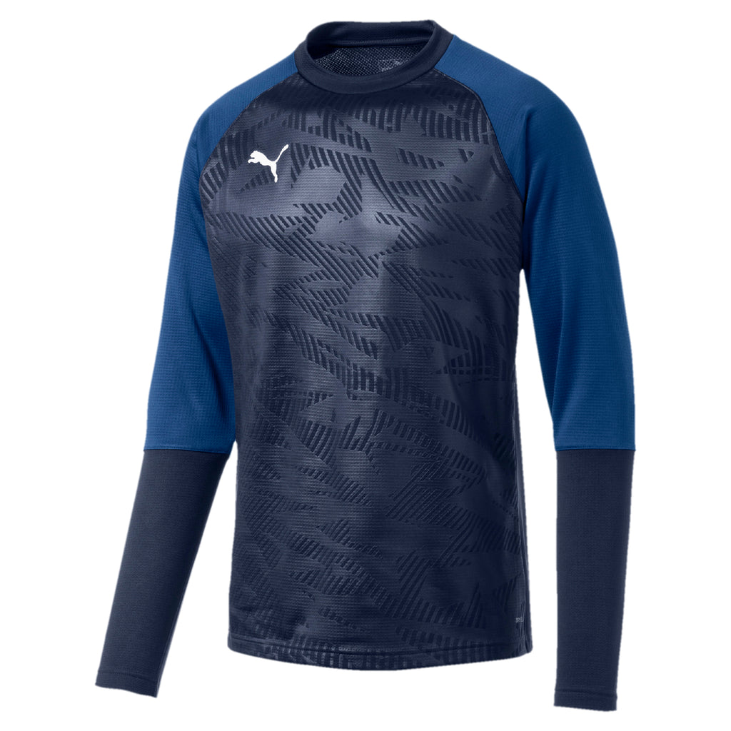 CUP Training Sweat Core Jr pulóver Electric Blue Lemonade-Peacoat
