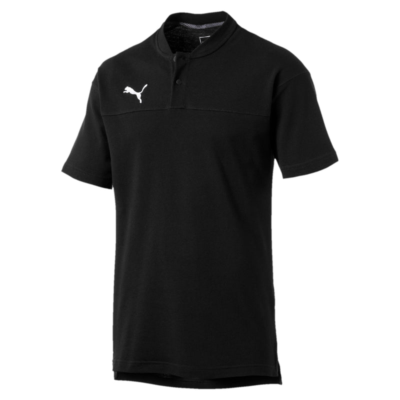 CUP Casuals póló Puma Black-whisper white - Teamsport & Lifestyle
