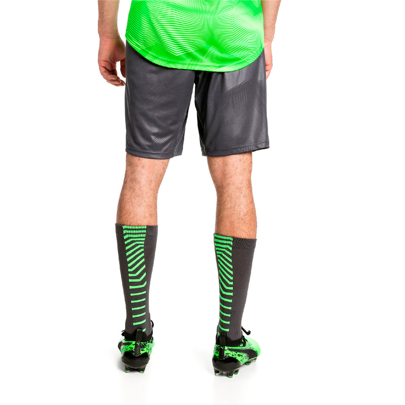 ftblNXT Graphic Shorts -Green Gecko - Teamsport & Lifestyle