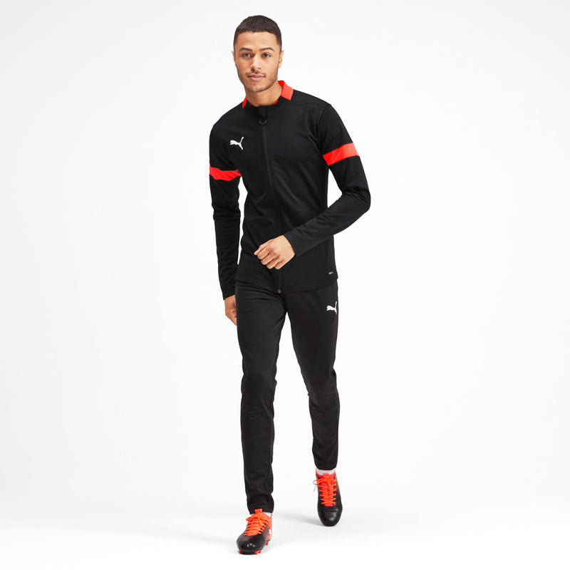 ftblPLAY Tracksuit szabadidőruha Puma Black-Nrgy Red - Teamsport & Lifestyle