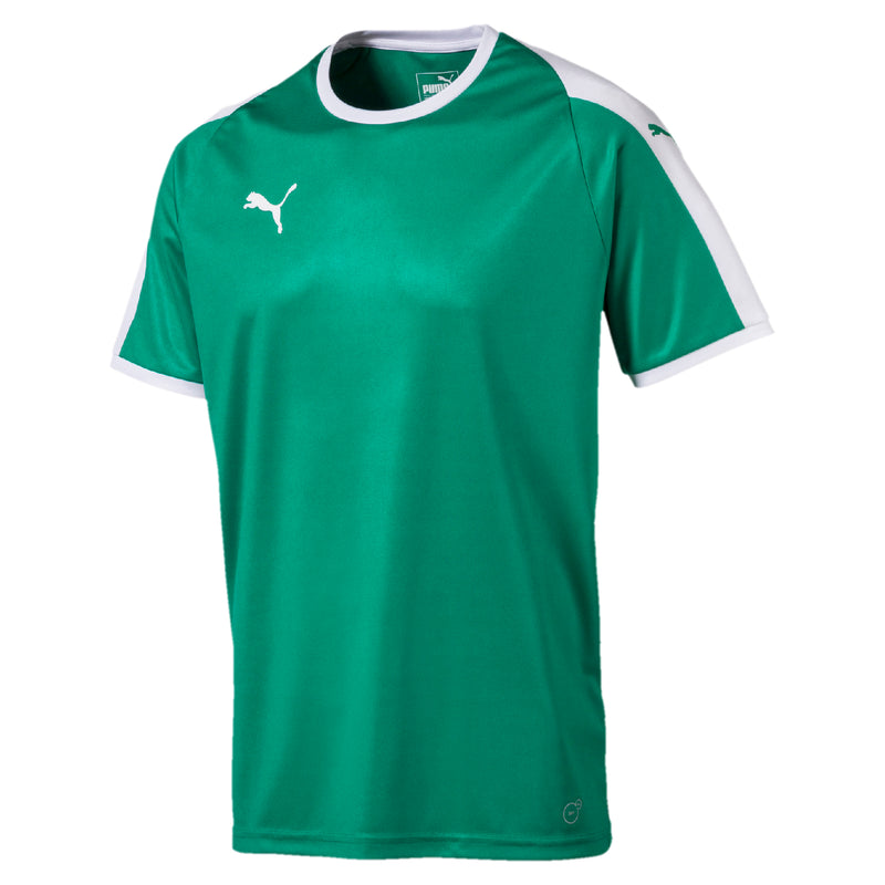 LIGA Jersey póló Pepper Green-Puma White - Teamsport & Lifestyle