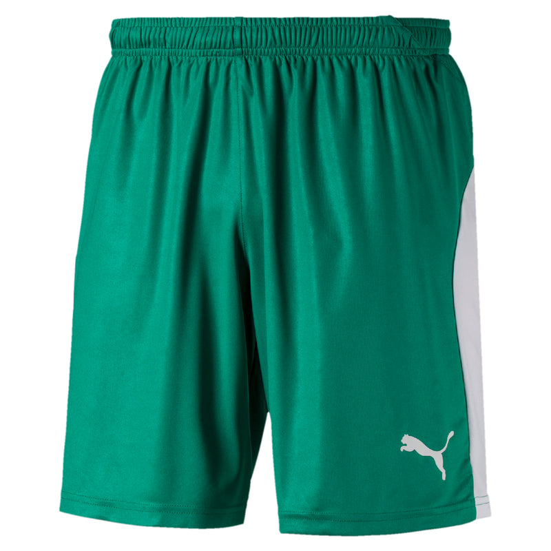 LIGA sort Pepper Green-Puma White - Teamsport & Lifestyle