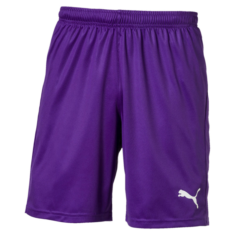 LIGA sort Core Prism Violet-Puma White - Teamsport & Lifestyle