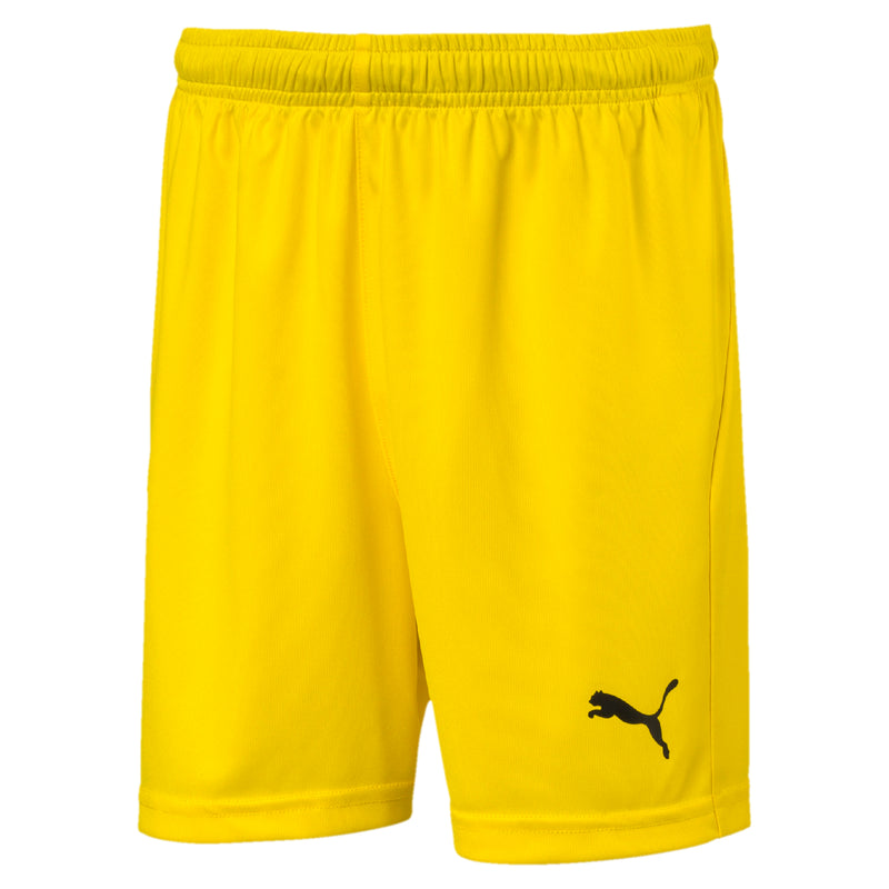 LIGA sort Core Jr Cyber Yellow-Puma Black